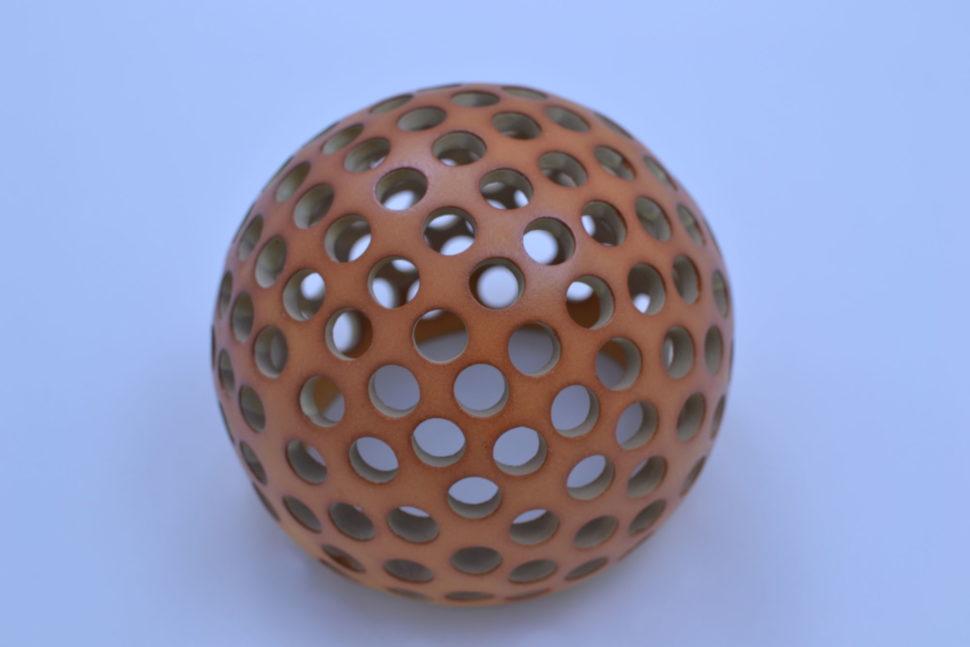 Dekorativní koule Kuličky 15 cm Přírodní