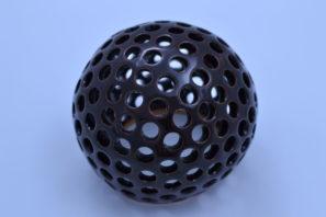 Dekorativní koule Kuličky 15 cm Starohnědá