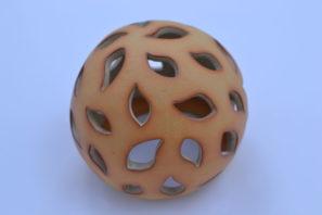 Dekorativní koule Slzy 15 cm Přírodní