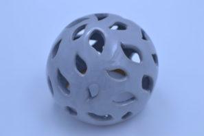 Dekorativní koule Slzy 15 cm Šedá