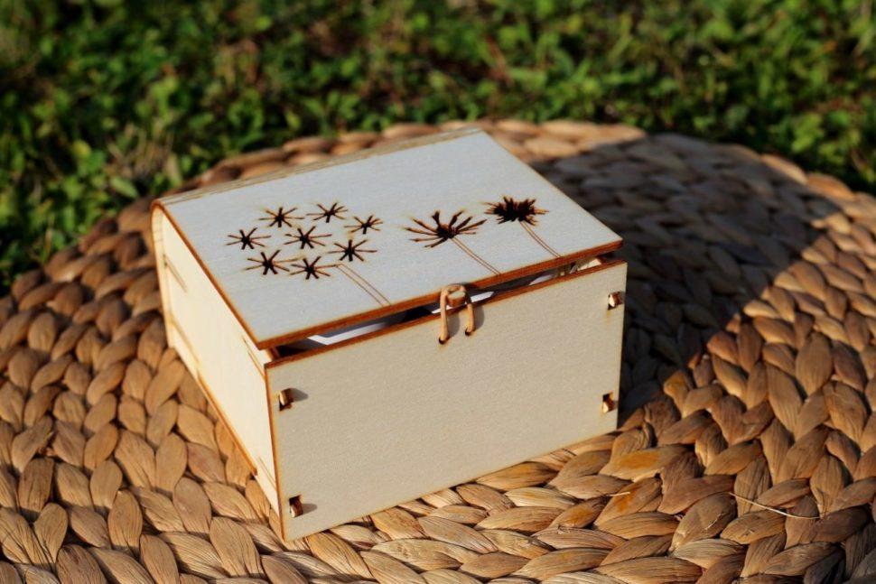 Dárková krabička PAMPELIŠKY s vůní OLORI 100 ml