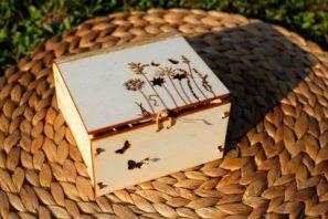 Dárková krabička LUČNÍ KVÍTÍ s vůní OLORI 100 ml