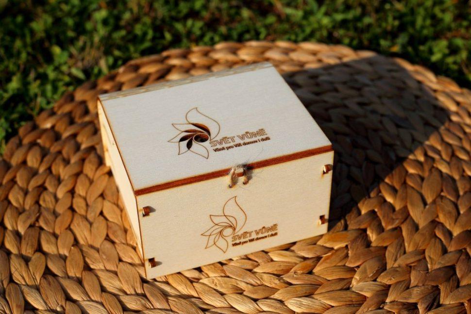 Dárková krabička NA PŘÁNÍ s vůní OLORI
