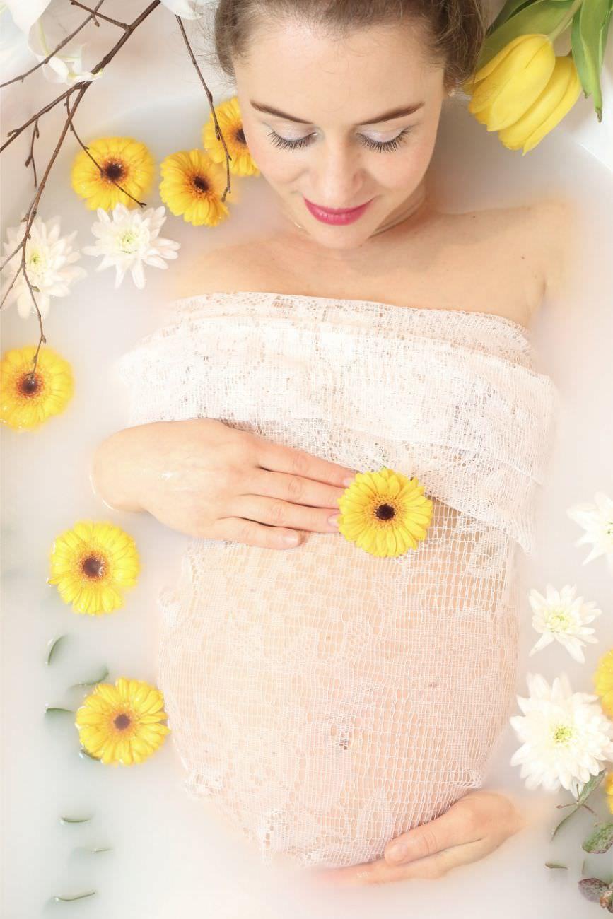Vůně během těhotenství apo porodu